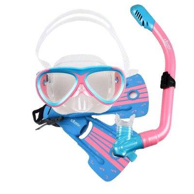 希途(citoor)儿童潜水镜套装全干式呼吸管浮浅装备浮潜三宝 浮潜装备 潜水用品C2Y50