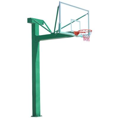 益動未來戶外籃球架 地埋方管籃球架 標準成人籃球架 學校籃球架子