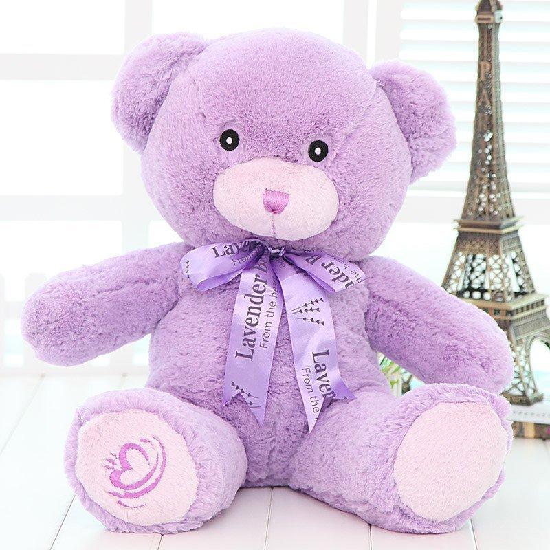悦达 毛绒玩具泰迪熊公仔薰衣草味小熊可爱萌大号抱抱