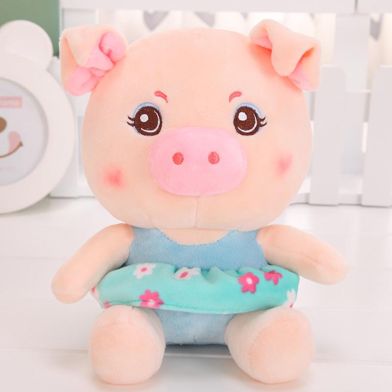 悦达 可爱小猪公仔毛绒玩具抱枕大号女生麦兜猪布娃娃