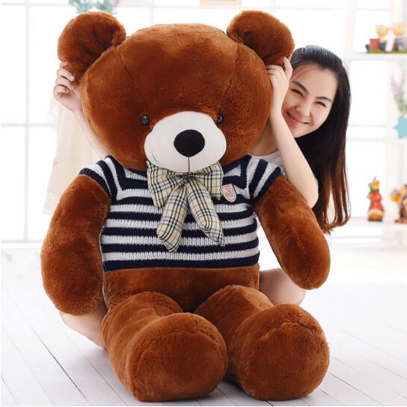 天乐布娃娃可爱大号毛绒玩具泰迪熊大熊公仔熊猫抱枕生日礼物女孩