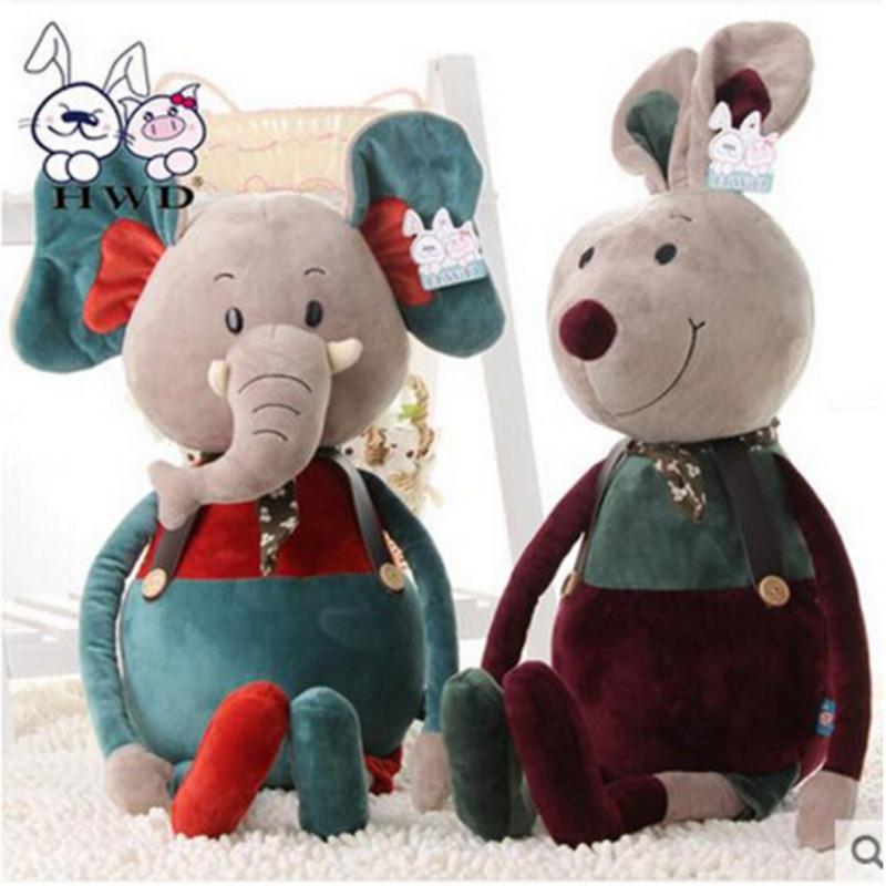 中天乐酷酷可爱超萌大小象兔子老鼠熊公仔毛绒玩具礼物品