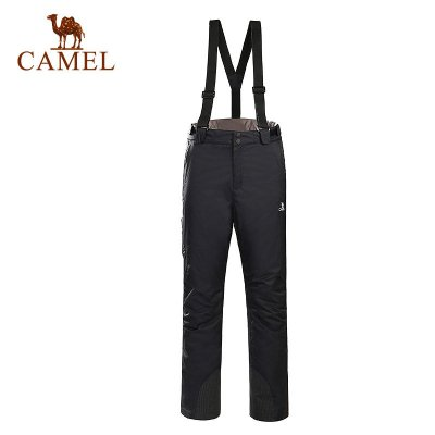 Camel骆驼 户外滑雪裤男款冬季户外运动滑雪保暖裤