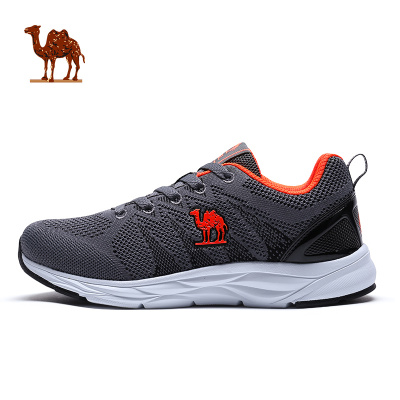 CAMEL駱駝戶外運動鞋 2019新款情侶款男女透氣耐磨舒適運動跑步鞋