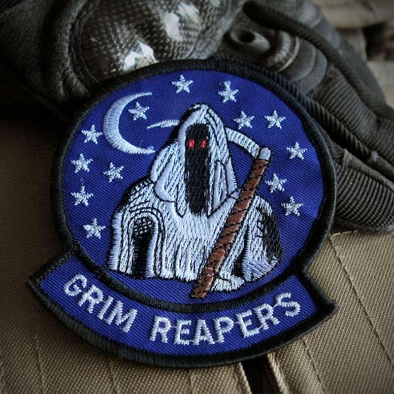 cqb 美军军条 陆军标志臂章 军种刺绣魔术贴 个性胸章