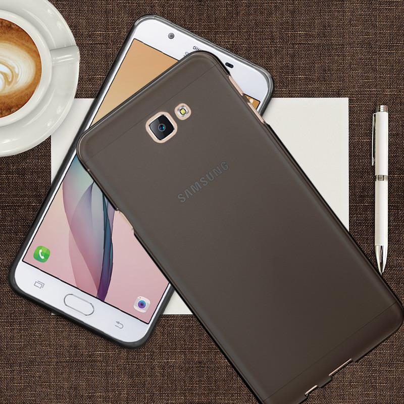 沃配 三星on5(2016)版手机壳sm-g5700手机套硅胶防摔磨砂透明薄保护