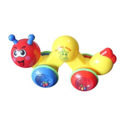兒童學爬玩具 爬行樂樂蟲 卡通爬爬樂毛毛蟲 學爬玩具