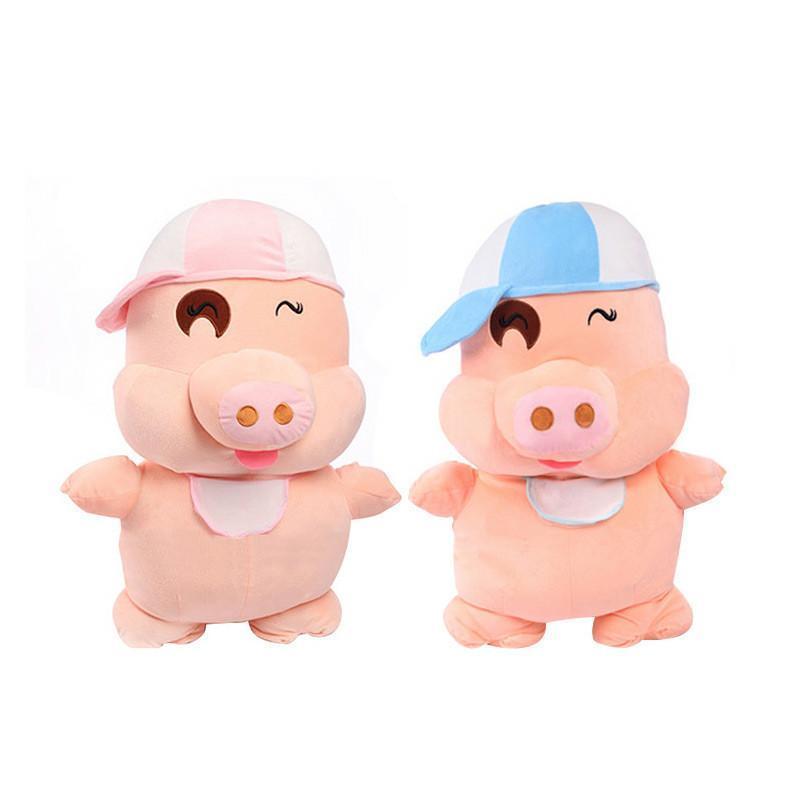 安吉宝贝 可爱麦兜猪公仔大号猪猪玩偶布娃娃毛绒玩具