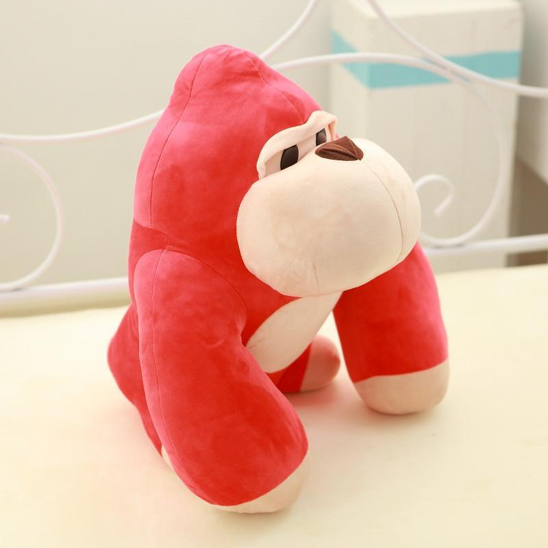 安吉宝贝 可爱创意大猩猩公仔 金刚猴子毛绒玩具布娃娃儿童玩偶 生日
