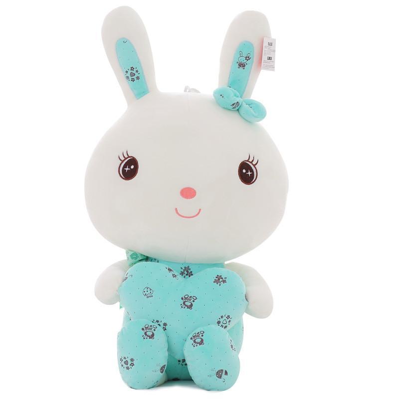 安吉宝贝可爱兔子毛绒玩具大号抱心兔公仔布娃娃玩偶