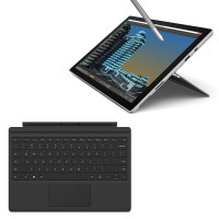 【套餐】Surface Pro4 m3 - 4GB内存/128GB存储 中文版+Surface Pro 4黑色原装键盘盖