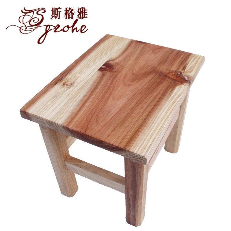 实木凳子小板凳小木凳 洗衣凳 浴室凳小矮凳环保木制小凳子