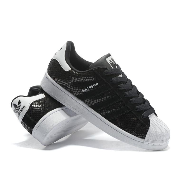 阿迪达斯 adidas男鞋三叶草贝壳头女鞋休闲鞋运动板鞋