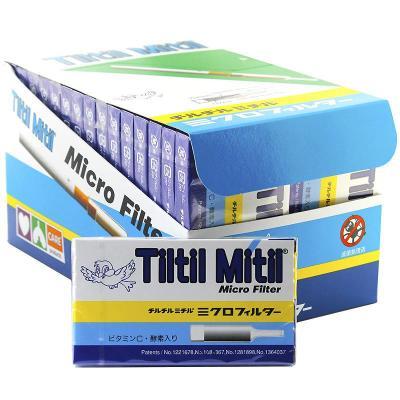 Tiltil mitil 日本 蓝小鸟 烟嘴 进口一次性烟嘴 抛弃型一次性 300支一大盒