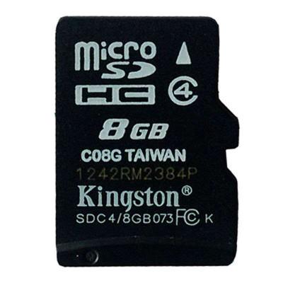 金士頓(Kingston)8G Class4 TF(micro SD)存儲卡 8G手機內存卡/存儲卡