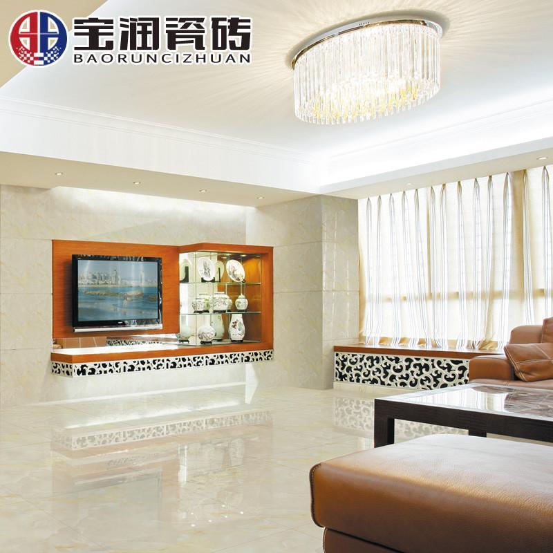 800*800大理石地板砖防滑地砖客厅卧室 佛山电视瓷砖背景墙恬风玉石
