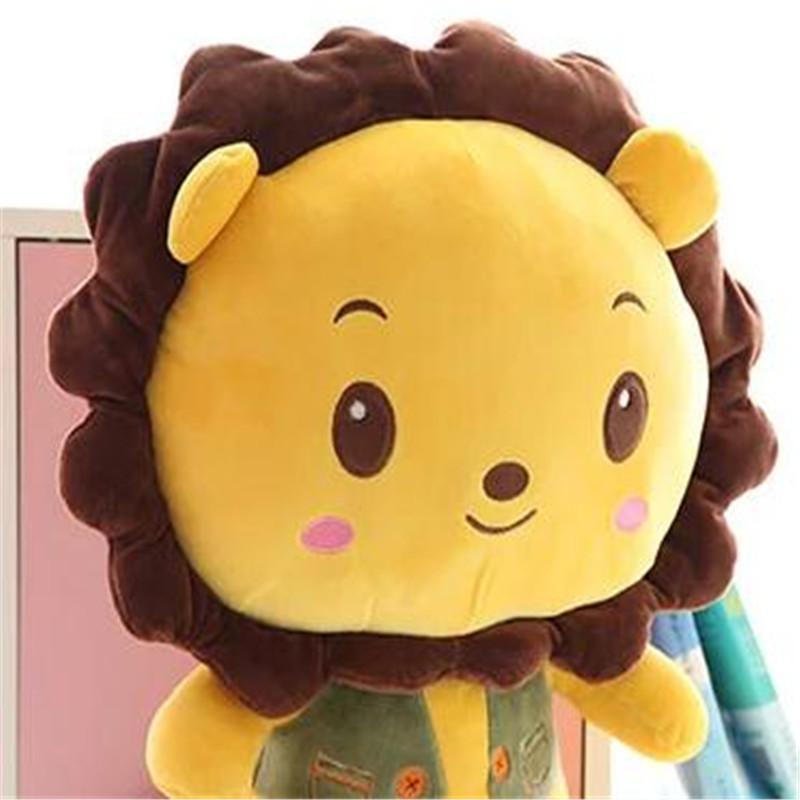 可爱太阳花狮子毛绒公仔玩具抱熊布娃娃孩子娃娃送女朋友生日礼物p