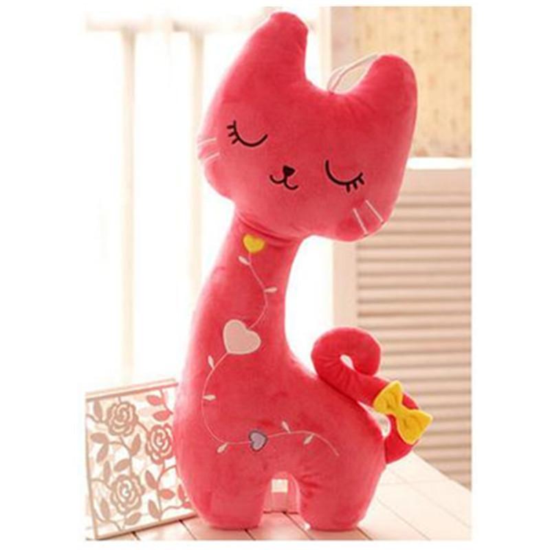 可爱爱心小猫咪毛绒玩具公仔大号睡觉抱枕 送女生生日