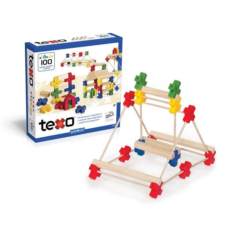 建筑搭建积木3d搭建益智积木木条建筑结构学习3d搭建100件思维游戏