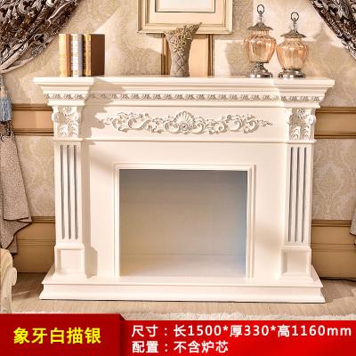帝轩名典 1.2米/1.5米/2米欧式壁炉 美式电壁炉架电视柜壁炉 装饰取暖炉芯