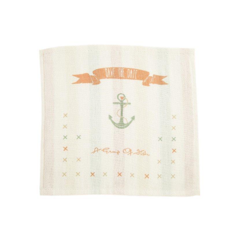 良良毛巾口水巾 婴儿多彩条纹毛巾口水巾 纯棉手帕新生儿洗脸