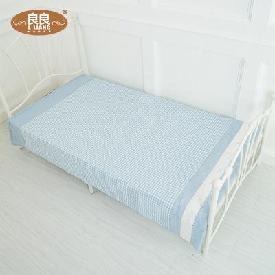 良良 成人凉席可折叠苎麻1.8m床透气席子亲子家庭装大床席空调席