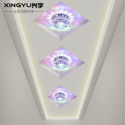 背景墙灯吊顶天花客厅