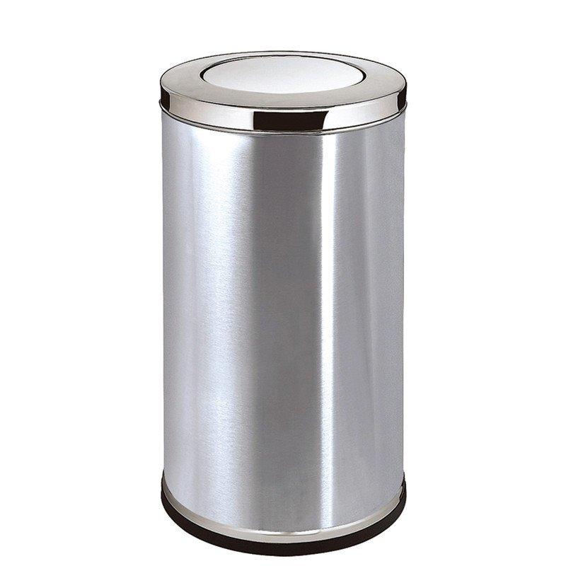 gpx-110港式不锈钢垃圾桶电梯口酒店大堂垃