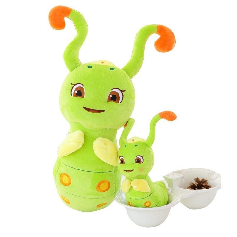 可爱花千骨糖宝公仔萌灵虫毛绒玩具玩偶创意新款毛毛虫布娃娃生日礼物