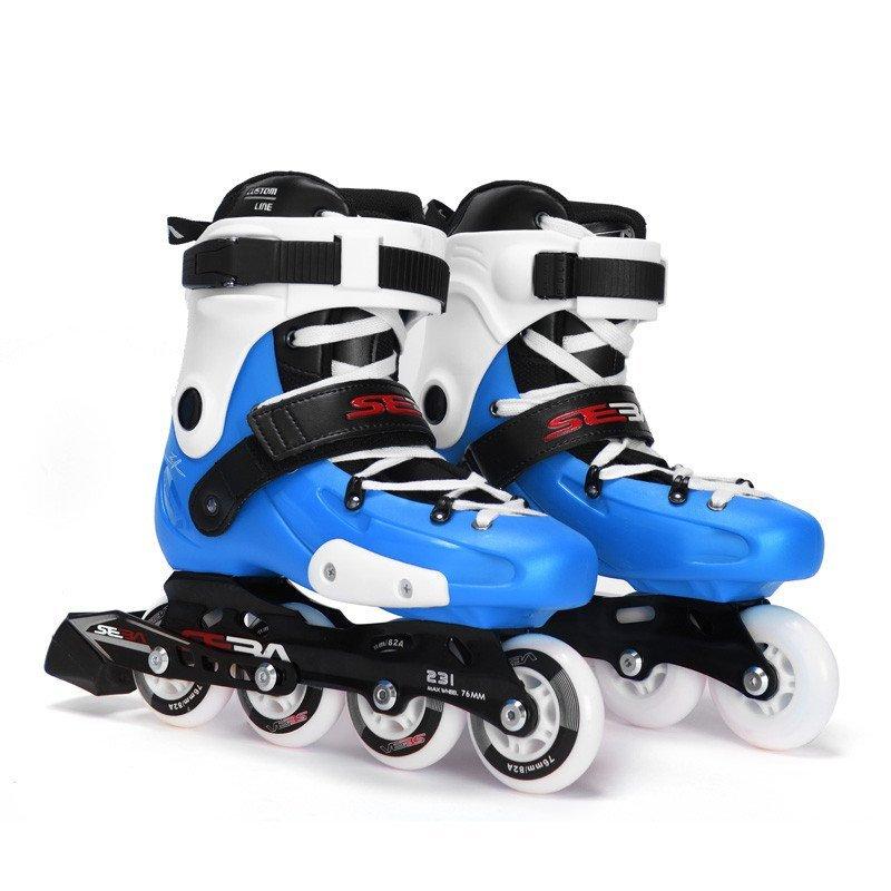 seba草逼_seba/圣巴 儿童硬壳轮滑鞋 刷街休闲 儿童轮滑鞋 fr-junior