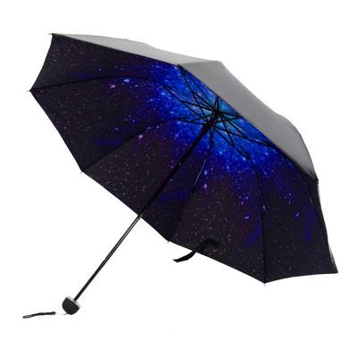 春笑 雨傘男女折疊黑膠防曬防紫外線大號太陽傘遮陽傘雙人晴雨兩用傘