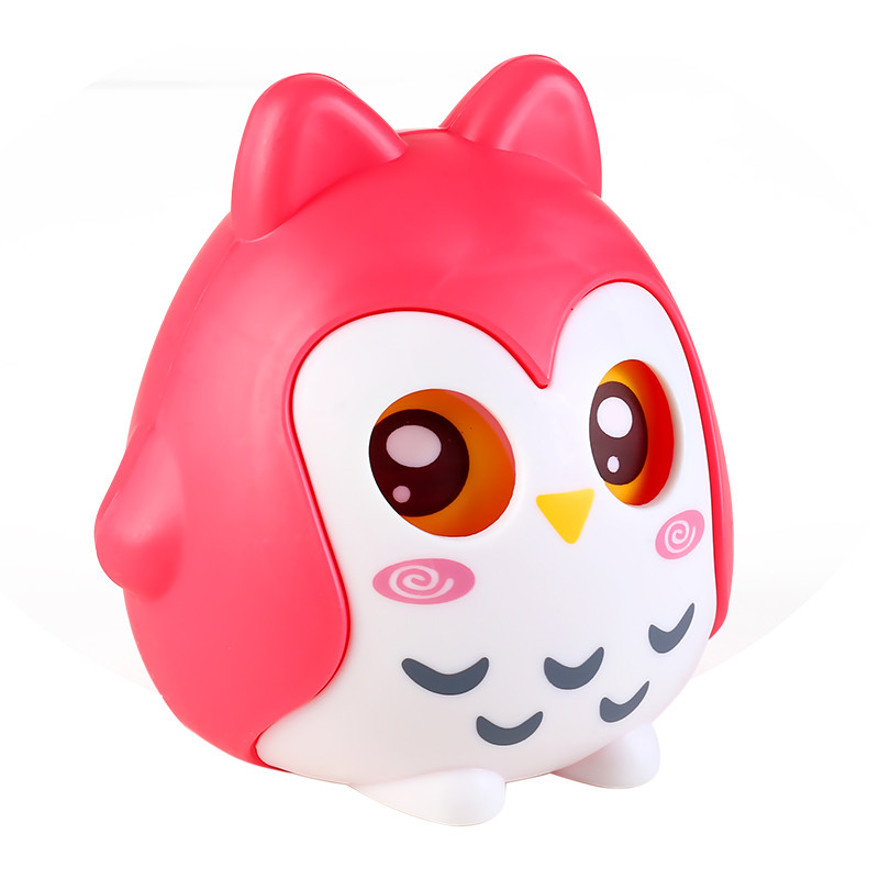 猫头鹰存钱罐塑料储蓄罐卡通可爱储钱罐儿童生日礼物硬币零钱 猫头鹰