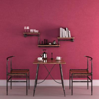 背景墻蠶絲無紡布墻紙臥室溫馨純色彩色餐廳護眼壁紙