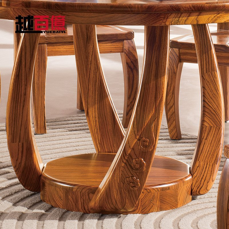 现代中式简约餐台