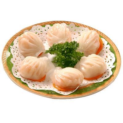 怡鮮來 水晶蝦餃160g 8只裝 蝦餃皇 廣式港式早茶點心 手工制作