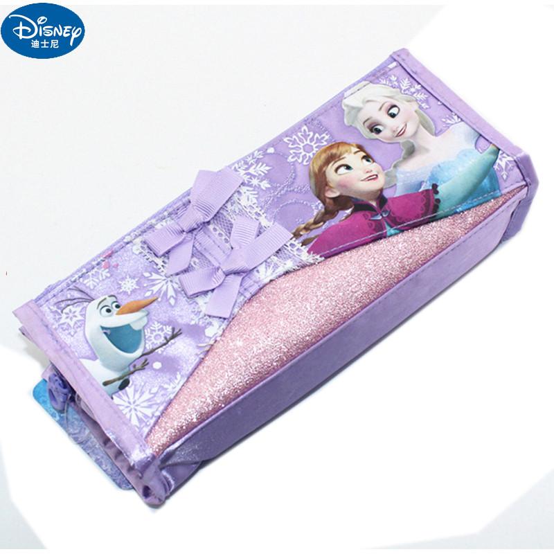 迪士尼冰雪奇缘儿童可爱笔袋 女孩文具盒小学生铅笔袋