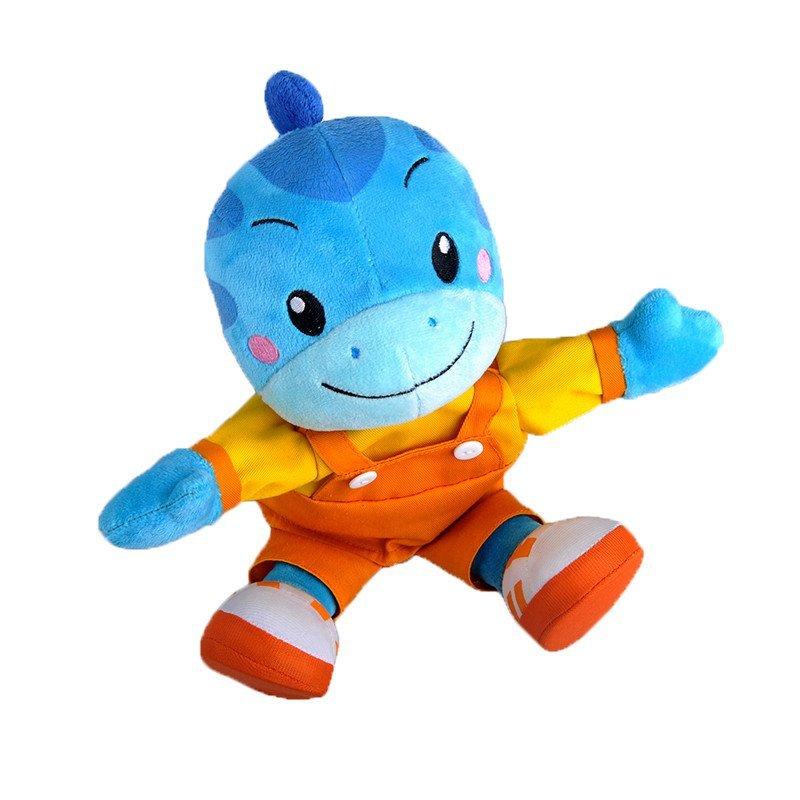 蓝迪智慧乐园 毛绒手偶 蓝迪(卡通恐龙形象)亲子互动礼物 宝宝必备手