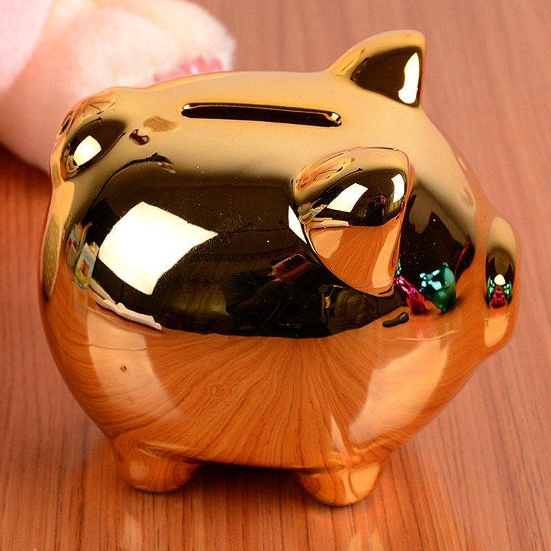 【小金猪】 绎美 创意礼品 卡通迷你存钱罐 创意学生储钱罐 动物家居