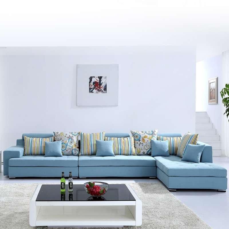 恺慕思 沙发 现代简约组合 布艺沙发 时尚豪华客厅家具布沙发 大小