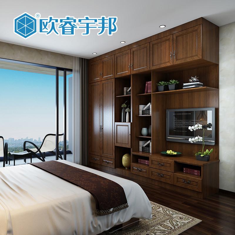 全屋家具定制 卧室电视柜衣柜 环保板材 上门测量设计安装 每平方米