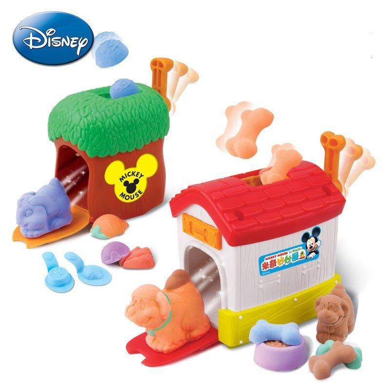 迪士尼disney3d打印泥超轻粘土彩泥套装橡皮泥玩具 动物世界ds-1313