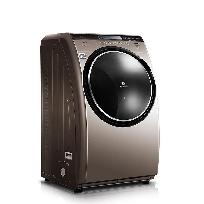 三洋(sanyo) 8公斤 三洋帝度斜式滚筒全自动洗衣机 dg