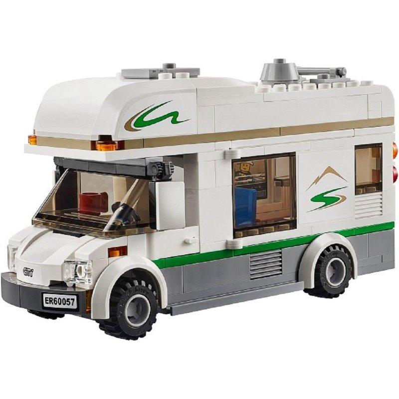 lego/乐高 城市生活 野营旅行车/camper van with cance 60057