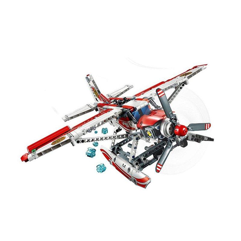 lego/乐高 机械科技 42040 消防飞机