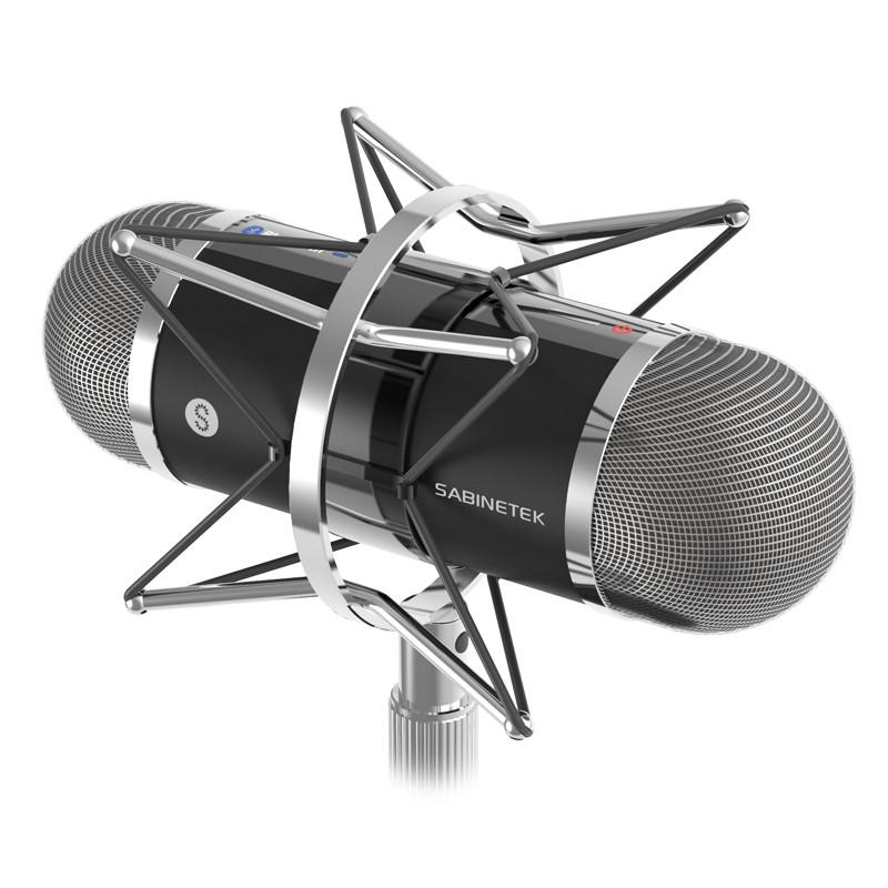 塞宾 4π 全景麦克风 主播神器 全景3D声音采集