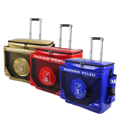 刀客EVA拉桿魚護桶加厚釣魚桶多功能活魚箱漁具用品