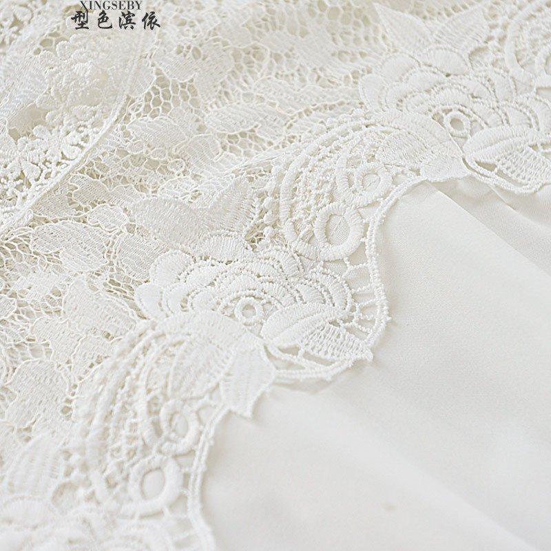 型色滨依 ぶ2015秋装韩版蕾丝收腰一字花边领蝙蝠袖连衣裙机1783252