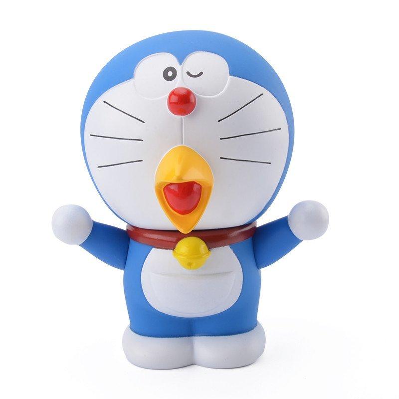 机器猫哆啦a梦手办叮当猫公仔纪念q版玩偶摆件玩具 鸡