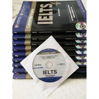 现货剑桥 雅思真题4-12学术类 雅思考试标准教材 IELTS考试 剑桥雅思考试全真试题 全9本 9本套 赠大礼包