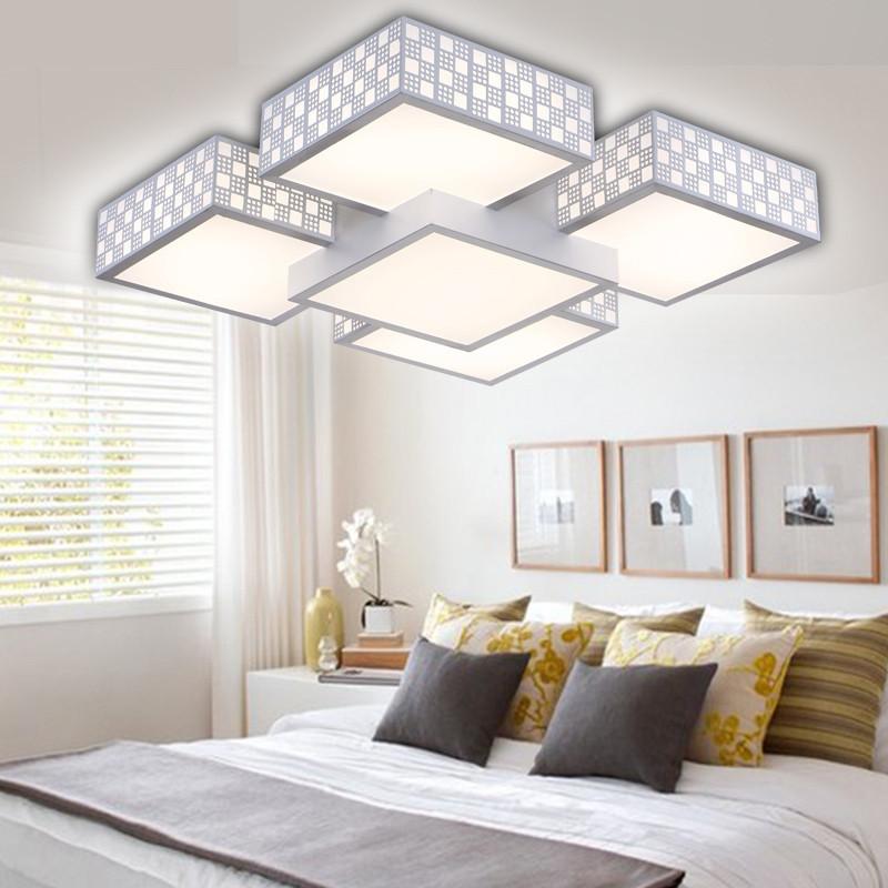 千歌led吸顶灯 客厅灯现代简约 长方形卧室灯餐厅灯书房灯时尚吸顶灯